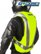 Helite Turtle Inflatable airbag vest Hi-Viz